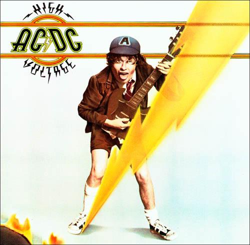 """AC/DC album """"High Voltage"""" [Music World]"""