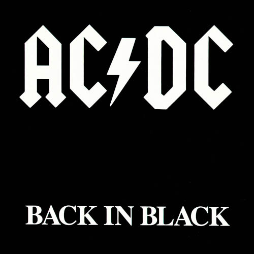 ac dc black in black full album